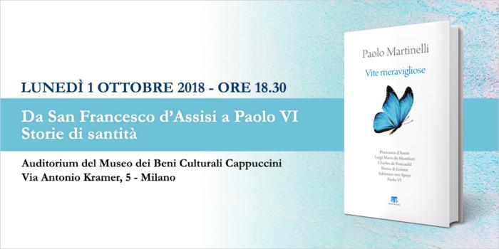 1 OTT – Milano, presentazione di 'Vite Meravigliose' il nuovo libro di mons. Paolo Martinelli