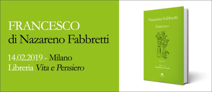 Presentazione del libro 'Francesco' di Nazareno Fabbretti