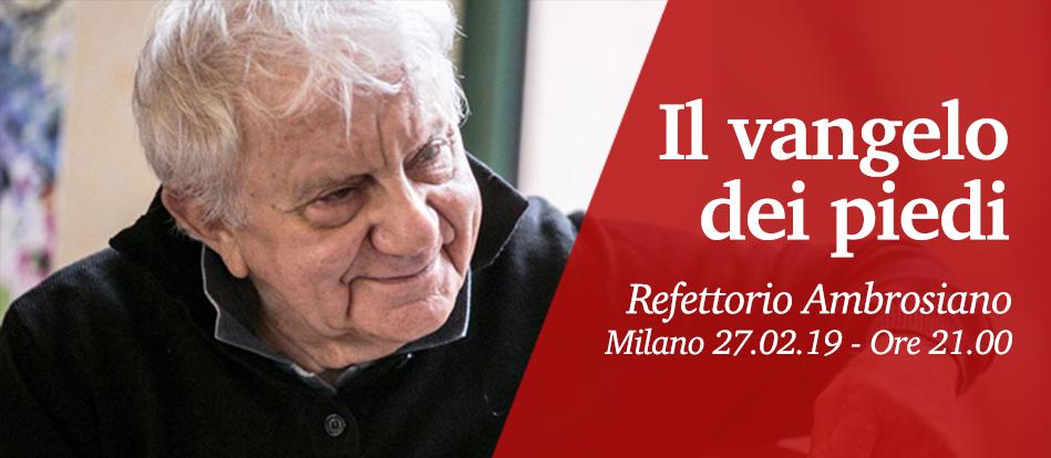 Al Refettorio Ambrosiano di Milano la presentazione del nuovo libro di don Antonio Mazzi