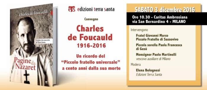 Convegno su Charles de Foucauld