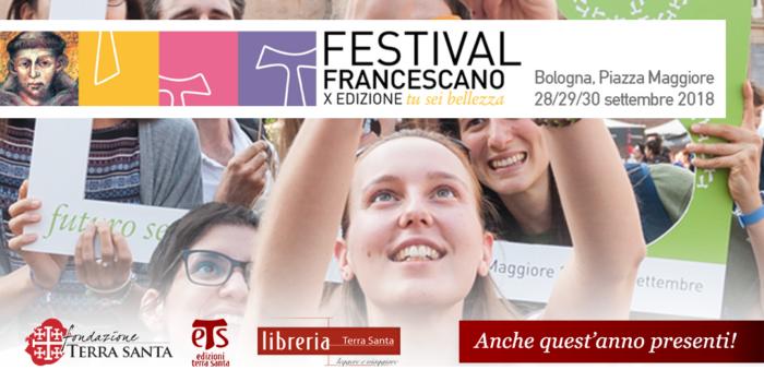 Festival Francescano | X Edizione | Bologna 28-30 settembre 2018