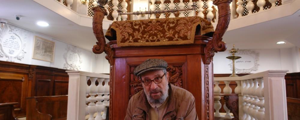 Fulvio Canetti alla Sinagoga italiana di Gerusalemme