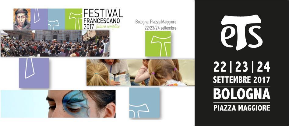 Bologna | 22-24 Settembre 2017 | Festival Francescano