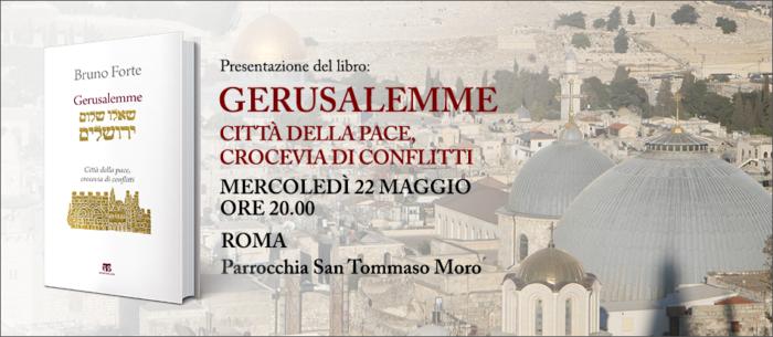Bruno Forte su Gerusalemme, pace e conflitti