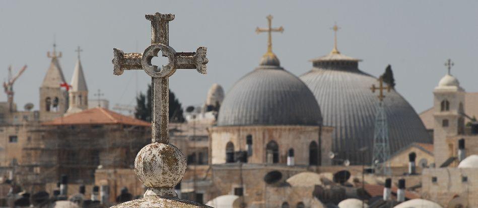 Una messa per la pace in Medio Oriente