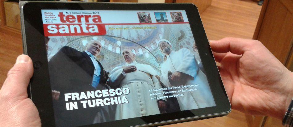 """""""Terrasanta"""" raddoppia sul web"""