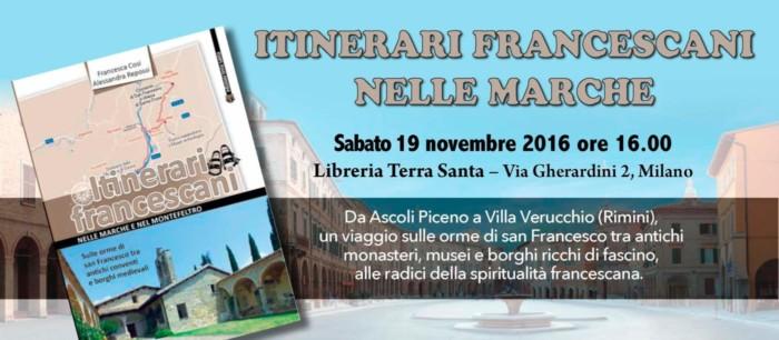 """Presentazione del volume """"Itinerari francescani nelle Marche e nel Montefeltro"""""""