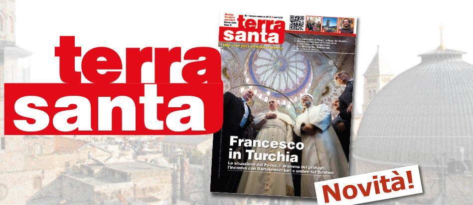 "La rivista ""Terrasanta"" si rinnova"