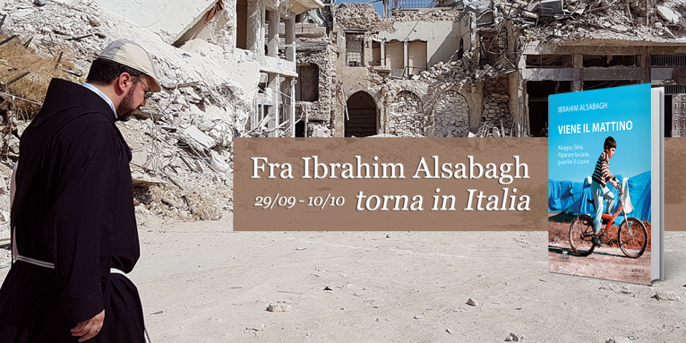 Padre Ibrahim Alsabagh torna in Italia