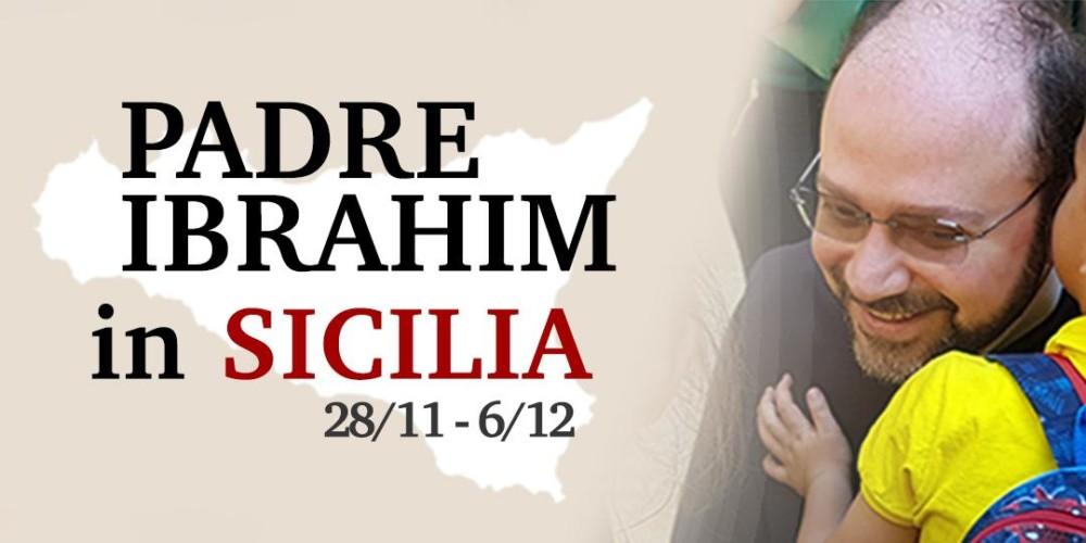 Padre Ibrahim Alsabagh in Sicilia