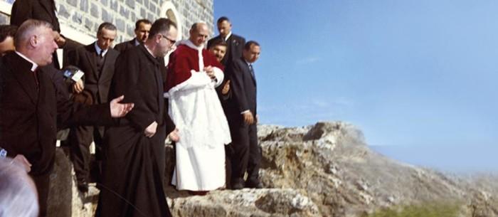 Ritorno alle sorgenti. All'Ambrosianeum il documentario su Paolo VI in Terra Santa