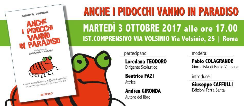 Roma | 03.10.17 | Anche i Pidocchi vanno in Paradiso