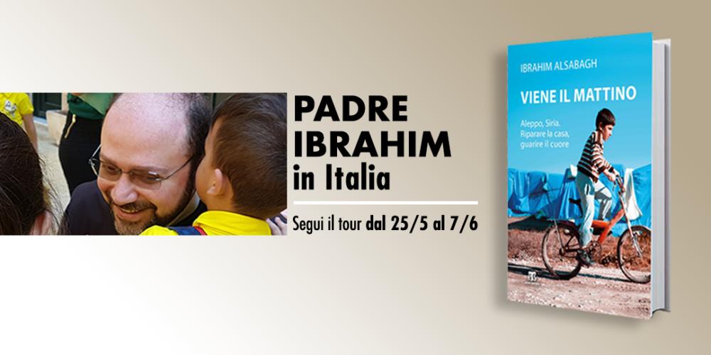 Padre Ibrahim torna in Italia