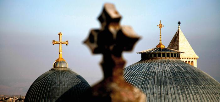 Come pellegrini al Santo Sepolcro